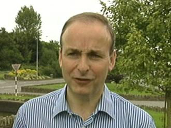 Micheál Martin - 'Outside interference in national debate'