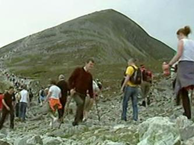 Croagh Patrick - Pilgrimage televised