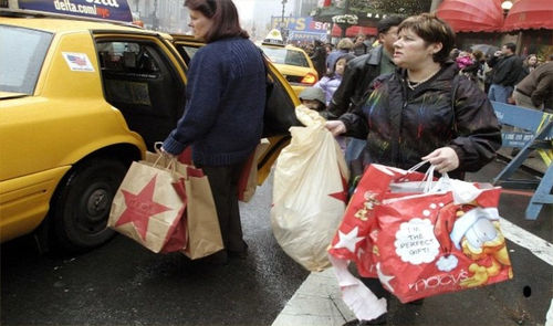 Black Friday - US shoppers hit the malls