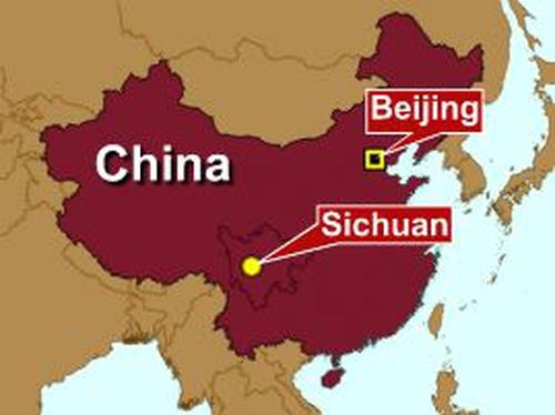 China - Quake in Sichuan