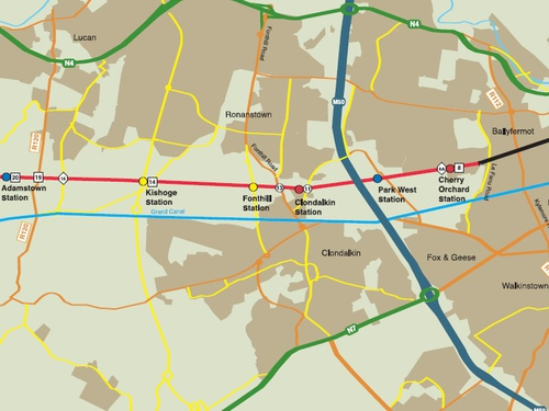 Kildare rail project - Set for completion in 18 months - Click to view larger version