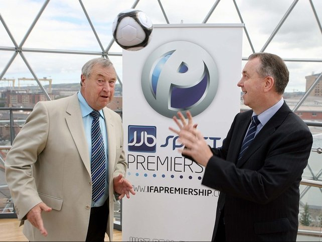 IFA president Raymond Kennedy is heading up the association's bid to co-host Euro 2016