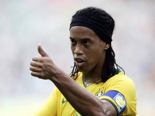 Brazilian soccer starRonaldinho is being held in detention in Paraguay