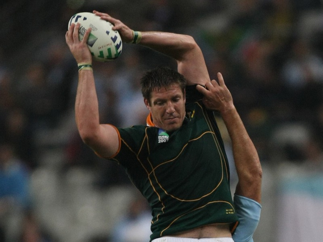 Bakkies Botha misses the final Test