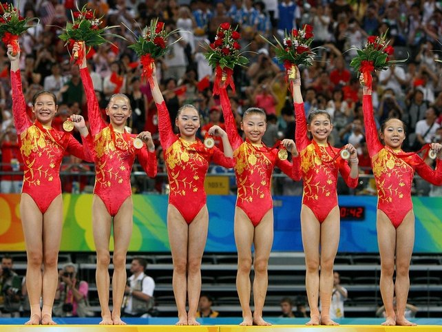 China's gymnasts are suspected of being under the competition age of 16-years-old