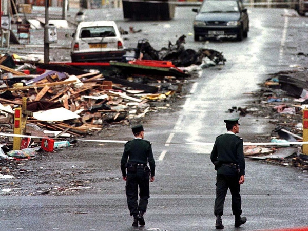 Omagh - 29 people killed in bombing