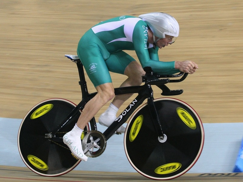 David O'Loughlin is out of the Beijing Olympics