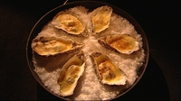 Oysters with Champagne Sabayon - A luxourious combination of two incredibly decadent ingredients.