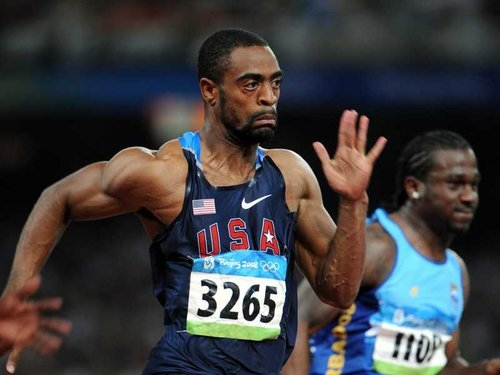 Tyson Gay set a new record for 200m on a straight track