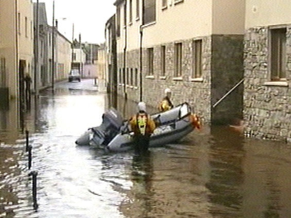 Carlow - Badly affected by floods