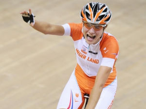 Marianne Vos was crowned Olympic points race champion