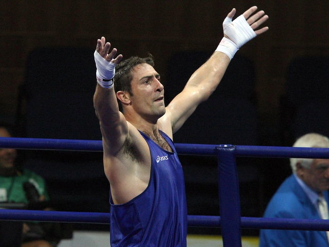 Kenny Egan - Dubliner gets silver medal