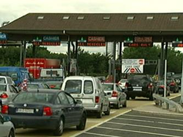 West-Link - Toll plaza not in use from midnight