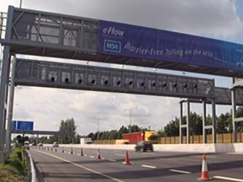 M50 - Switchover to barrier-free tolling this weekend