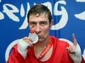 Egan must settle for silver medal