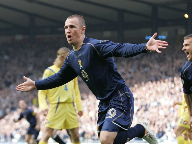 Scotland's Kenny Miller scored his 20th goal of the season