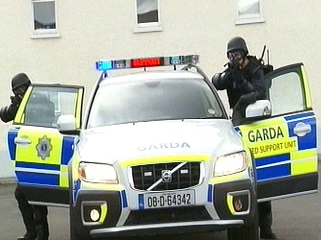 Garda - New armed support units