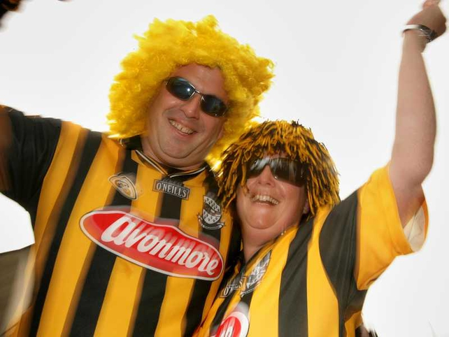 More Kilkenny fans in party mode before the game