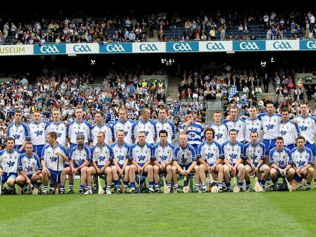 Waterford's team before throw-in