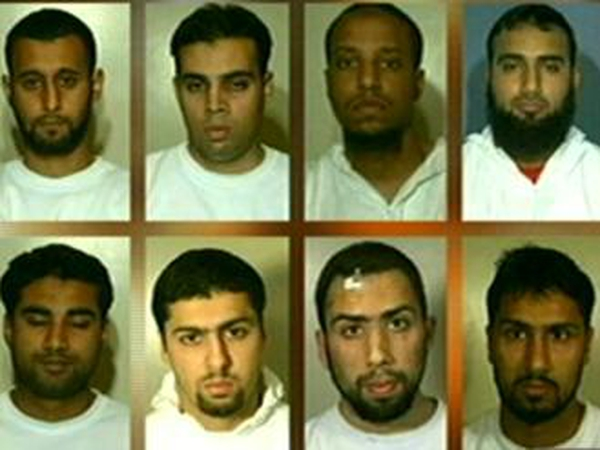 Terror case - Eight defendants involved