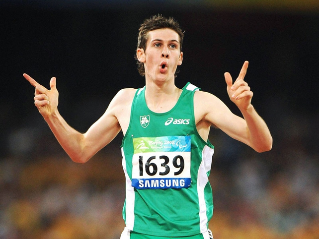 Michael McKillop left the field for dead at 200m