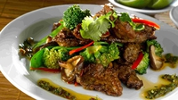 Beef & Lemongrass Stir-Fry - Dr Eva Orsmond serves up this delicious stir-fry