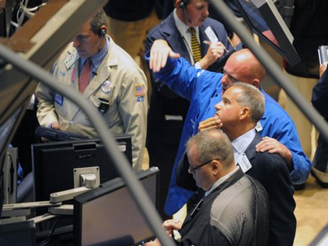 New York - Stocks rallied for best day in six years