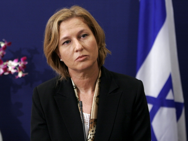 Tzipi Livni  - Asked to join Israeli govt