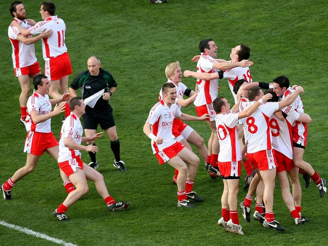 Tyrone have been drawn against Monaghan, Down and St Mary's in the Dr McKenna Cup