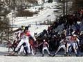 Lightning ignites fire at Winter Olympics venue