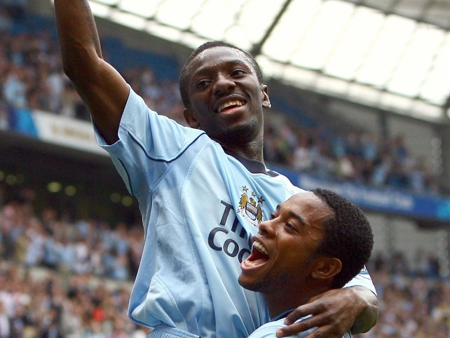 Shaun Wright-Phillips and Robinho were rested for Man City's clash with Brighton