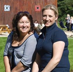 Sharon Murphy and Anna McGroddy