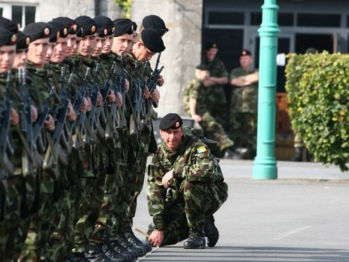 Irish Army - Praise for peacekeeping missions
