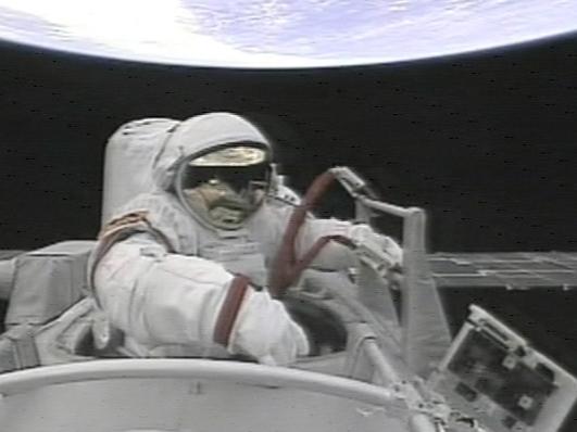 First all female space walk