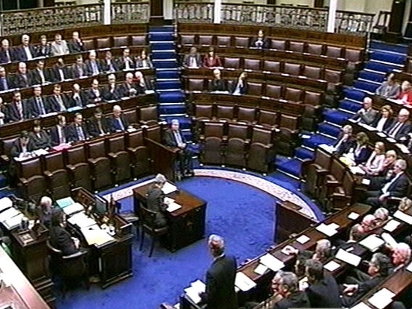 Dáil debate - Two-year safety net