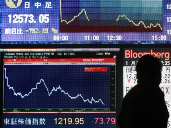 Markets - Dramatic fall has hurt pension funds