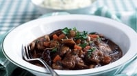 Beef and Guinness Casserole with Creamy Mash - A taste to toast!
