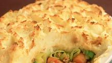 Cottage Pie with Garlic Butter