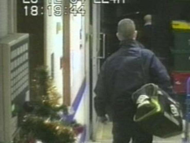 Christopher Ward - Captured on CCTV