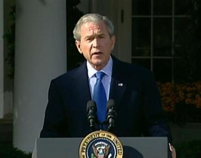 George W Bush - Farewell visit to Iraq