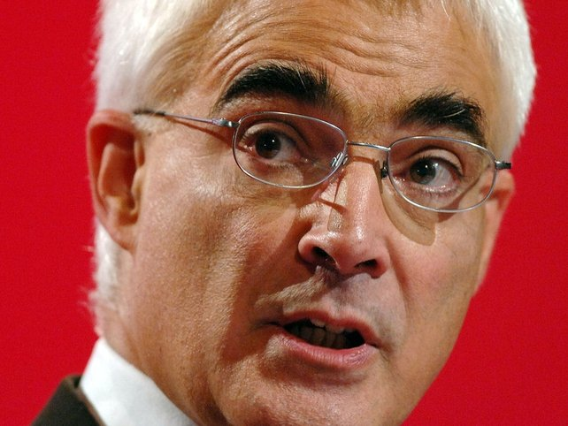Alistair Darling - Claimed for accountancy bill