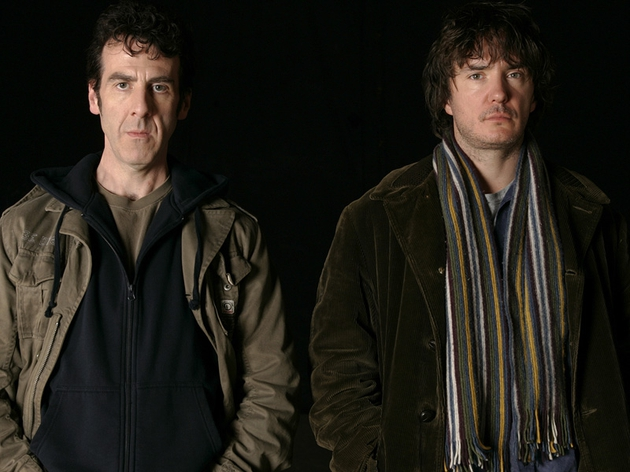 Mark Doherty and Dylan Moran