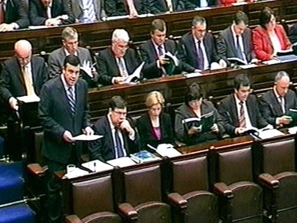 Brian Lenihan - Three-year public finances target