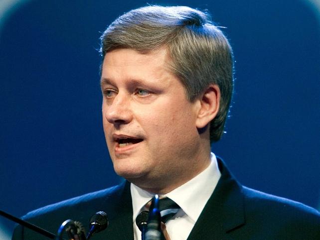 Stephen Harper - Called election five weeks ago