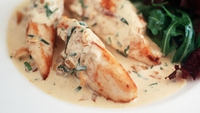 Chicken with Martini Sauce - Scaloppine Di Pollo Al Martini may sound better in Italian but....it tastes fantastic in eith