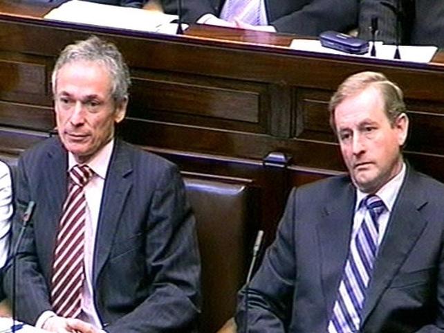 Bruton & Kenny - Dáil debate on Budget