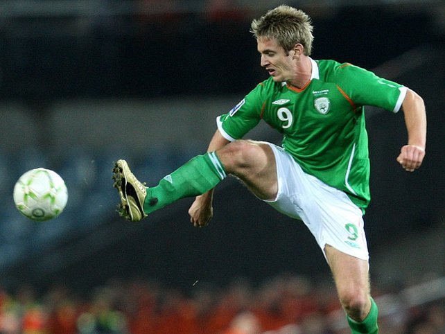 Reading striker Kevin Doyle has been nominated for the FAI senior award