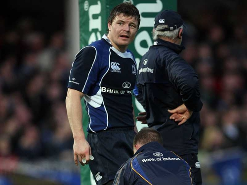 Brian O'Driscoll was named man of the match as Leinster swept past Munster at Croke Park to qualify for the final of this season's Heineken Cup