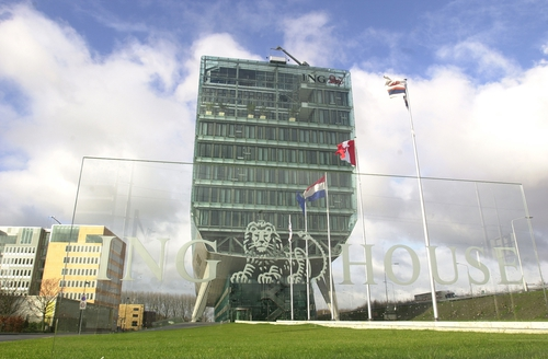 ING headquarters - Dutch government to the rescue