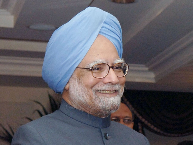 Manmohan Singh - Saluted the nation